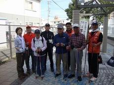 滋賀県ウォーキング協会の皆さまと ノルディックウォーキング!